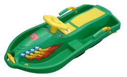 Acra Snow Boat øiditelná bob A2035 - zelený