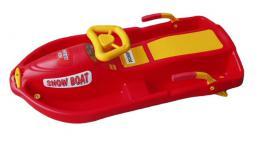 Acra Snow Boat øiditelný bob A2035 - èervený