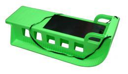 Acra Kamzík - plastové sánì 05-A2043 - zelený