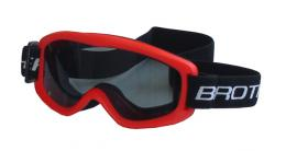 BROTHER B132-CRV lyžaøské brýle DÌTSKÉ - èervené
