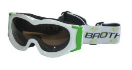 BROTHER B185-B lyžaøské brýle JUNIOR - bílé