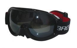 BROTHER B259-CRN lyžaøské brýle pro dospìlé - dvojsklo - èerné