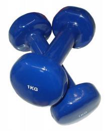 ACRA Aerobikové èinky jednoruèní 2 x 1kg