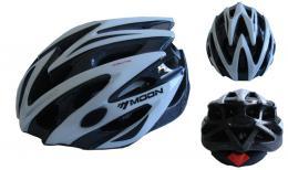 ACRA CSH29B-M bílá cyklistická helma velikost M (55/58cm) 2018