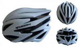ACRA CSH98S-M støíbrná cyklistická helma velikost M (55-58 cm) 2018
