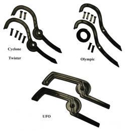 ACRA D08 brzdy k bobùm Twister, Cyclone. Olympic a UFO