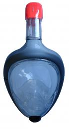 P1501L-SE Celooblièejová potápìèská maska se šnorchlem