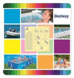 ACRA Bestway 62091 Záplaty samolepící PODVODNÍ