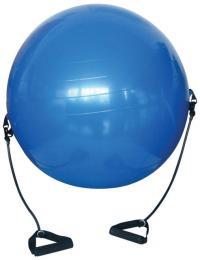 ACRA Gymnastický míè s expandéry - 650 mm