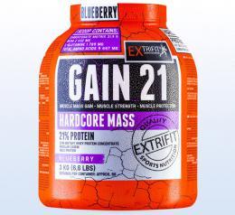 Extrifit Hardcore Gain 21 3kg vanilka