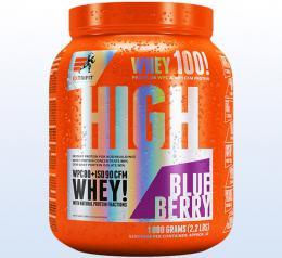 Extrifit High Whey 80 1000 g borùvka