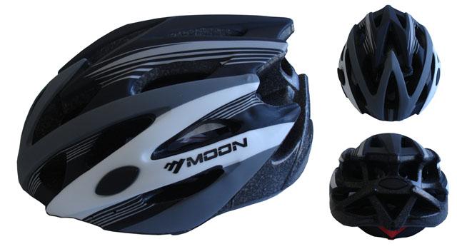 ACRA CSH29CRN-M černá cyklistická helma velikost M (55/58cm) 2018