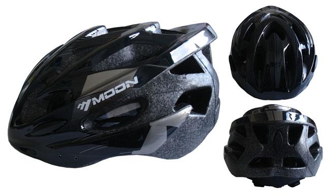 ACRA CSH30B-M černá cyklistická helma velikost M (55-58cm) 2018