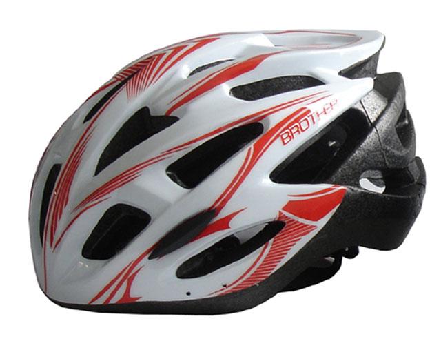 ACRA CSH88XL bílá cyklistická helma velikost XL(60/62cm) 2015