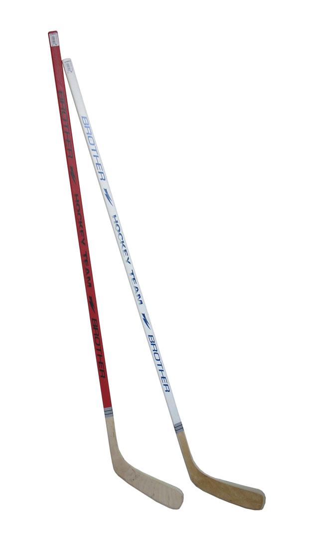 ACRA A3377-P Hokejka plastová s dýhou 147cm - pravá