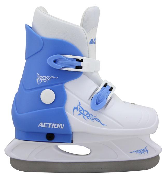 ACRA H713/1 Hokejové brusle roztahovací dětské - vel.33-36