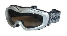 BROTHER B112-S lyžaøské brýle - støíbrné