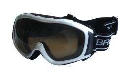 BROTHER B255-S lyžaøské brýle - støíbrné