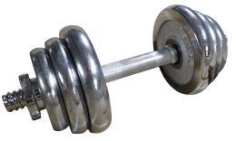 ACRA Èinka nakládací, jednoruèní, chromová 12 kg