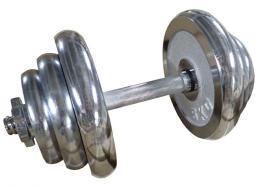 ACRA Èinka nakládací jednoruèní chromovaná 20 kg 25 mm