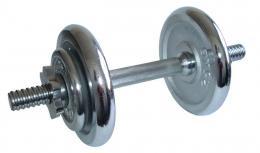 ACRA Èinka nakládací, jednoruèní - 8,5 kg - chromované kotouèe