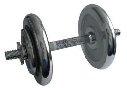 ACRA Èinka nakládací, jednoruèní, chromová - 14 kg