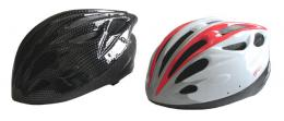 ACRA CSH31M bílá/èerná cyklistická helma velikost M (55-58cm) 2015