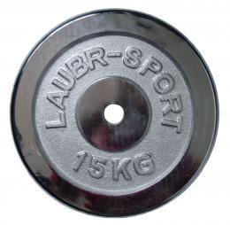 ACRA chrom 15kg - 25mm