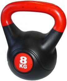 ACRA Èinka kettlebell s cementovou náplní - 8 kg