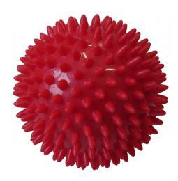 ACRA Míèek masážní prùmìr 7,5 cm èervený