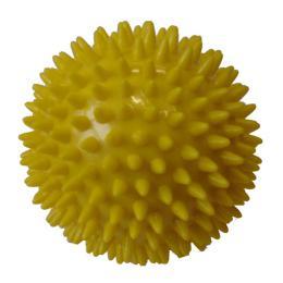 ACRA Míèek masážní prùmìr 7,5 cm žlutý