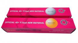BROTHER G1807-40 míèky na stolní tenis 6ks 40mm