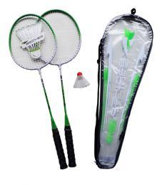 ACRA Badmintonová sada - 2 rakety  košíèek   pouzdro