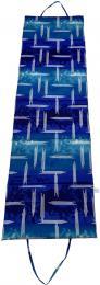 ACRA L01-MO Lehátko plážové skládací velké modré