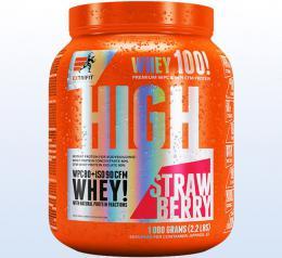 Extrifit High Whey 80 1000 g jahoda - zvìtšit obrázek