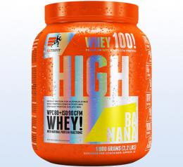 Extrifit High Whey 80 1000 g banana