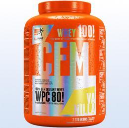 Extrifit CFM Instant Whey 80 vanilka 2270 g - protein - zvìtšit obrázek