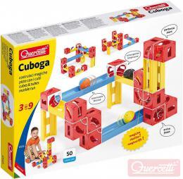 QUERCETTI Cuboga Premium kulièková dráha 50 dílkù 3 kulièky STAVEBNICE