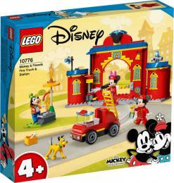LEGO DISNEY Hasièská stanice a auto Mickeyho a pøátel 10776 STAVEBNICE