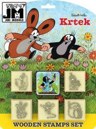 JIRI MODELS Razítka 5+1 Krtek a zajíc (Krteèek)