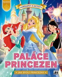 JIRI MODELS Knížka samolepková Disney Princezny Paláce Princezen
