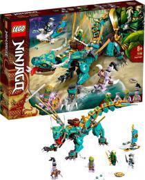 LEGO NINJAGO Drak z džungle 71746 STAVEBNICE