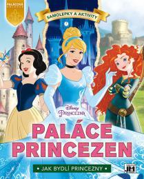 JIRI MODELS Knížka samolepková Princezny Paláce Princezen Disney