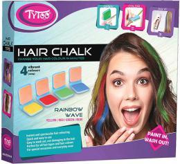 Køídy dìtské na vlasy duhové barevné Rainbow set 4ks v krabici
