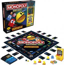 HASBRO Hra MONOPOLY Pac-Man na baterie *SPOLEÈENSKÉ HRY*
