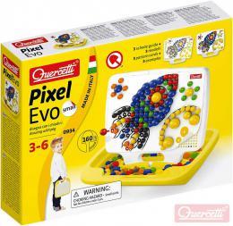 QUERCETTI Hra Pixel Evo Small mozaika s kolíèky set 160ks + 3 pøedlohy