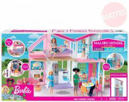 MATTEL BRB Dùm v Malibu pro panenku Barbie rozkládací set s nábytkem a doplòky