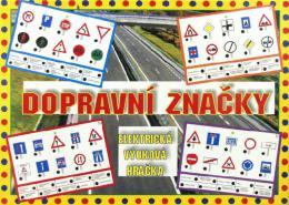 SVOBODA Elektronická hra Dopravní znaèky