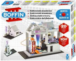 Boffin III. BRICKS 20 projektù 200 souèástek na baterie elektronická STAVEBNICE