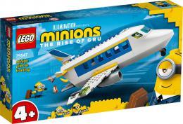 LEGO MINIONS Mimoòský pilot v zácviku 75547 STAVEBNICE